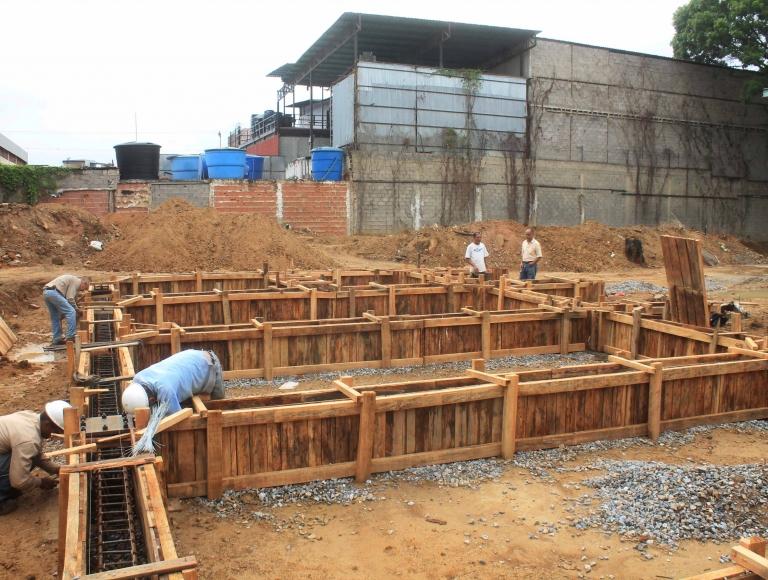 Construyen módulo educativo en el Liceo Esteban Gil Borges de Miranda